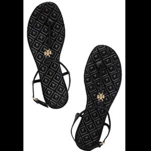 NIB Tory Burch Marion Quilted Thong Sandals